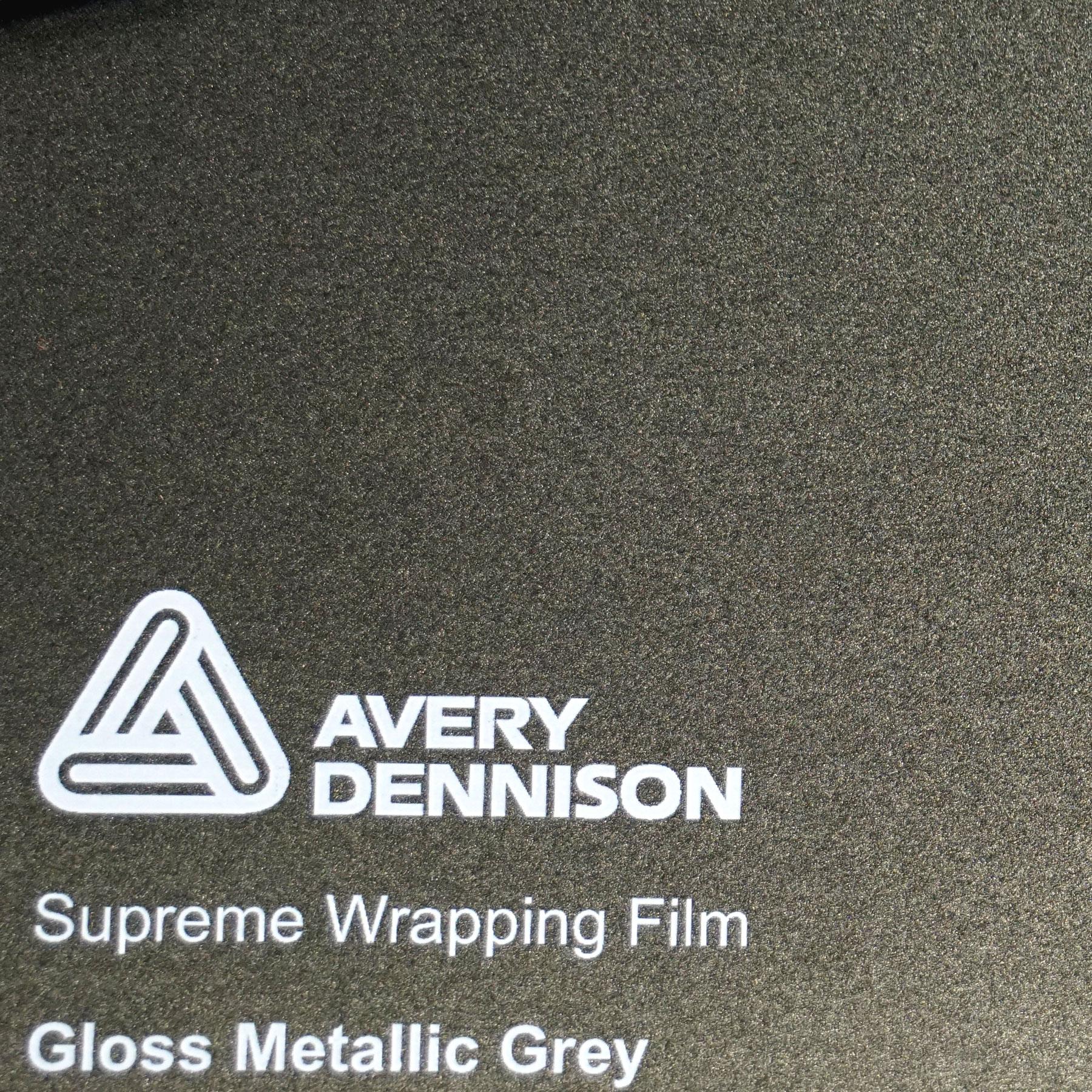 42,50 € // m Avery Supreme Car Wrapping Film Folie schwarz glänzend 1 m