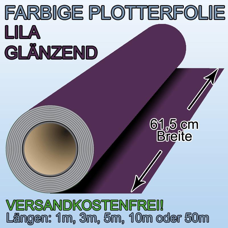 Plotterfolie lila gl nzend klebefolie selbstklebende folie for Klebefolie lila