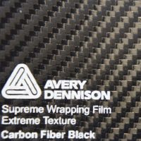 Carbonfolie Avery Supreme Wrapping Film schwarz