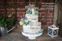 Zwei Namen aus Birkenholz | Tortenstecker | Hochzeit | Verlobung