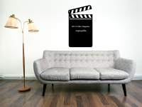 Tafelfolie Filmklappe