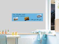 120 x 30 cm | Selbstklebende, bunte, magnetische Farbfolie | Whiteboard + Tafel Ersatz hellblau Vorschau