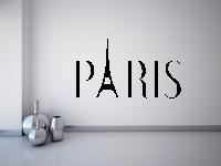PARIS Wandtattoo