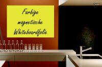 Magnetische Whiteboardfolie farbig | selbstklebend | für Magnete