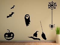 Halloweenset 2 Wandtattoo