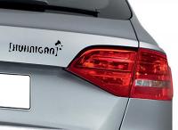Huhnigan Hahn Autoaufkleber