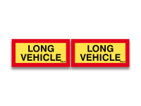 Reflektierendes Schild Long Vehicle Set