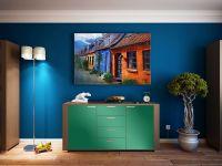 Möbelfolie für Kommode mittelgrün matt