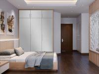 Möbelfolie für Schrank lichtgrau matt