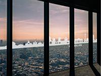 Fenstersticker | Glasfolie Berliner Skyline | Berliner Skyline