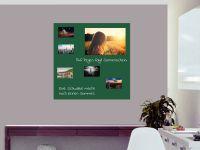 100 x 100 cm | Selbstklebende, bunte, magnetische Farbfolie | Whiteboard + Tafel Ersatz