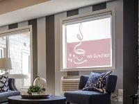 Sichtschutzfolie | Fensterdekorfolie Kaffee | Kaffeebild
