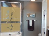 Sichtschutzfolie | Fensterfolie Bambuszweige | Bambuszweigeoptik