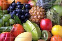 Früchte Fliesenbild