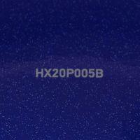 Blaue Glitterfolie für Car Wrapping glänzend HX20P005B