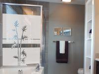 Sichtschutzfolie | Fensterfolie Palmenzweig | Palmenzweigoptik