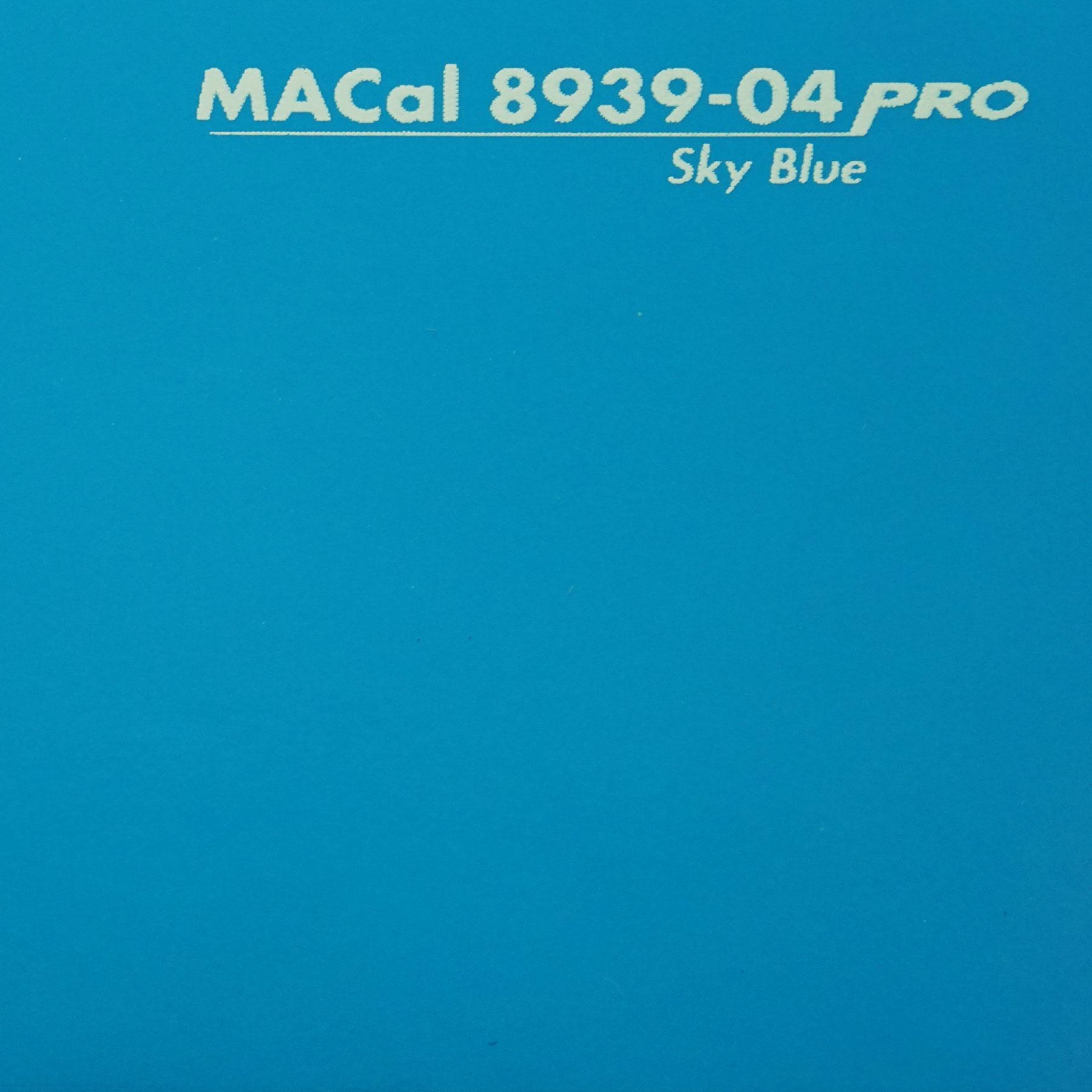Klebefolie himmelblau gl nzend macal 8939 04 for Klebefolie wandschutzfolie