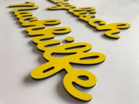 Alu Verbund Buchstaben