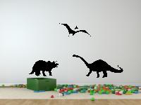 Dinosaurier Wandtattoo