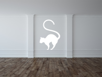 Katze Wandtattoo