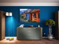 Möbelfolie für Kommode grafitgrau matt