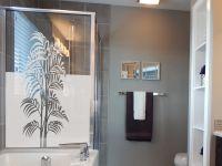 Sichtschutzfolie | Fenstertattoo Palmwedel | Palmwedeloptik