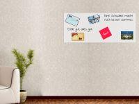 120 x 50 cm | Selbstklebende, bunte, magnetische Farbfolie | Whiteboard + Tafel Ersatz weiss Vorschau