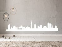 Wandtattoo Berlin Silhouette