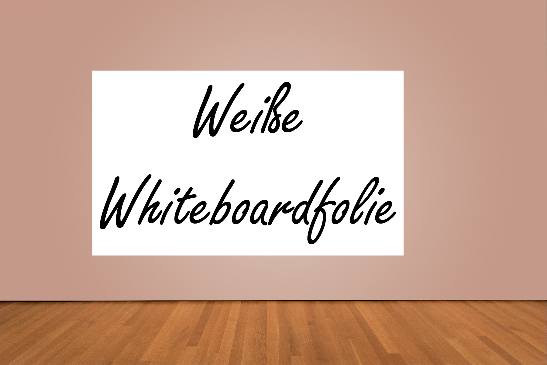 wei e whiteboardfolie f r whiteboards dwp001b 137cm breit. Black Bedroom Furniture Sets. Home Design Ideas