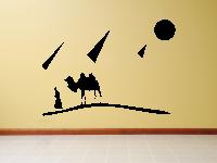 Wüste Wandtattoo