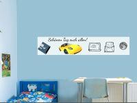 10 x 50 cm (3 Stk) | Selbstklebende magnetische Whiteboardfolie | Whiteboard | weiß