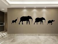 Elefanten Wandtattoo