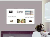 180 x 100 cm | Magnetisches Whiteboard | weiß mit Bohrungen
