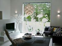 Sichtschutzfolie | Fensterfolie Flamingo | Flamingomotiv