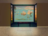Sichtschutzfolie | Folie Fische | Motiv mit Fischen