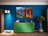 Möbelfolie für Kommode frühlingsgrün glänzend