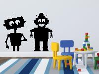 Roboter Wandtattoo 1