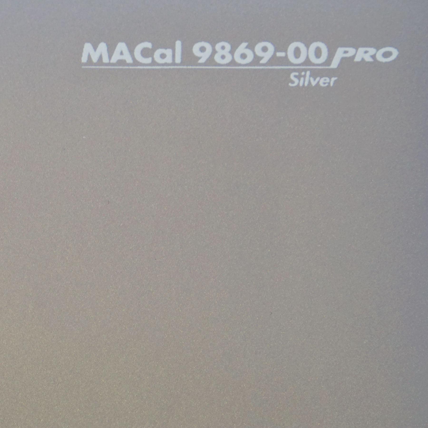 Plotterfolie silber macal 9869 00 folie zum plotten for Klebefolie wandschutzfolie