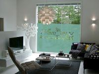 Sichtschutzfolie | Fensterbanner Wellnessoase | Wellnessoasenmuster