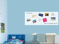 150 x 60 cm | Selbstklebende magnetische Whiteboardfolie | Whiteboard | weiß