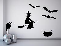 Halloweenset 1 Wandtattoo