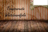 Transparente Whiteboardfolie