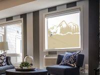Sichtschutzfolie | Folie Gebirgelandschaft | Gebirgelandschaft