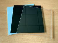 Acrylglas Platte | Zuschnitt | 5mm stark | transparent | weiß | schwarz