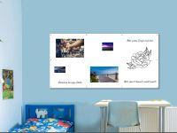 200 x 100 cm | Magnetisches Whiteboard | weiß mit Bohrungen