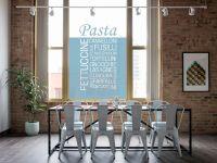 Sichtschutzfolie | Milchglasfolie Pasta | Pasta Design