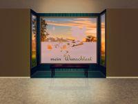 Sichtschutzfolie | Aufkleber Blumenfee | Blumenfeemuster