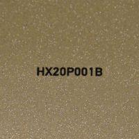 Goldene Glitterfolie für Car Wrapping glänzend HX20P001B