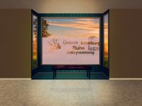 Sichtschutzfolie | Fenstertattoo Wellness | Wellness Design