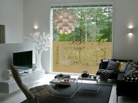 Sichtschutzfolie | Glasdekorfolie Essen | Esszimmermotiv